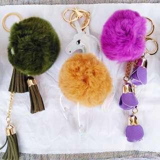 Dual Chain Bag Charms w/Danglings 💕