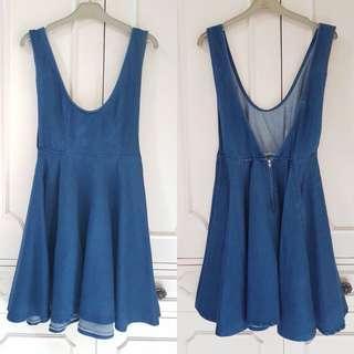 HQ Korean Dungaree / Jumper Dress