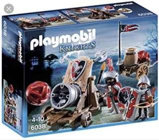 Playmobil 6038 Hawk Knights Battle Cannon
