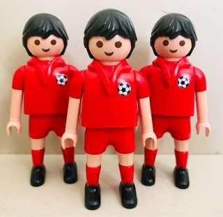 Playmobil Soccer Players