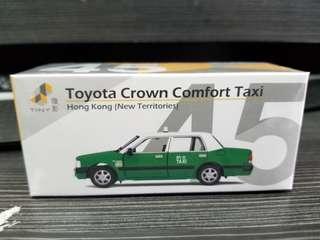 Tiny 微影 合金車仔 #45 ATC64477 的士 綠的 新界 NT Hong Kong New Territories Taxi