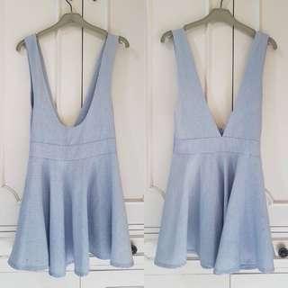 Unbranded Korean Dungaree Dress
