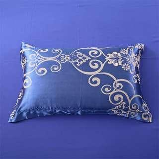 🚚 2 pieces silk pillow case / free delivery