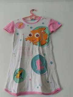 Baju dress Nemo