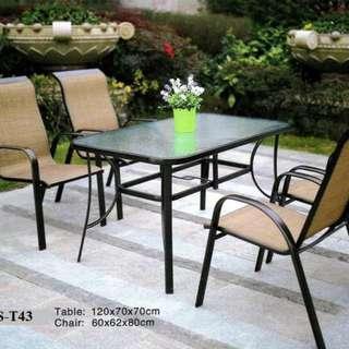 outdoor & indoor dining table