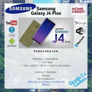 KREDIT Samsung Galaxy J4 Plus Promo Gratis 1x Cicilan
