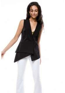 6two7 Gianna Collection V Neck Vest