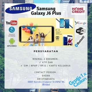 KTEDIT Handphone Samsung J6 Plus Promo Gratis 1x Cicilan