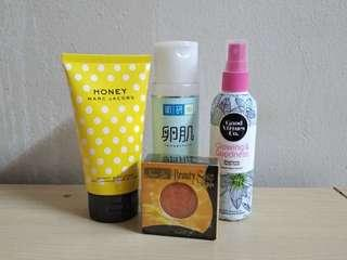 Random beauty products