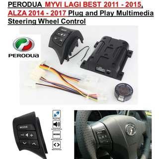 Steering Wheel Control Perodua Alza Myvi Lagi Best