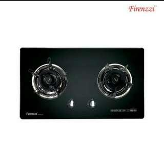 Firenzzi Glass Gas Hobs Model FGH-8628