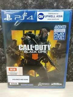 (Brand New) PS4 Call Of Duty: Black Ops 4 / R3