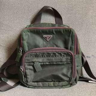Authentic Prada Tessuto Mini Backpack