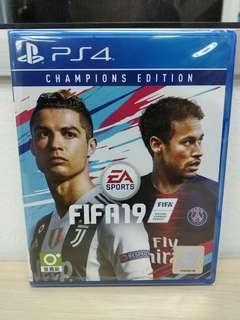 (Brand New) PS4 Fifa 19 - Champions Edition / R3