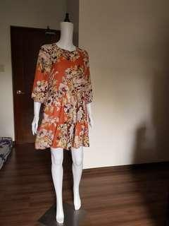 Floral casual/ Summer dress