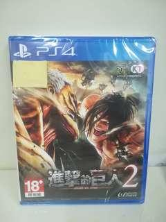 Attack On Titan 2 (Chinese) (R3)