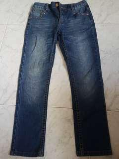 Denim mid waist jeans (SELLING URGENTLY)