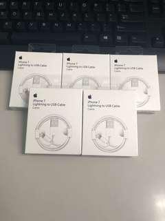 Brand new authentic apple lightning cable