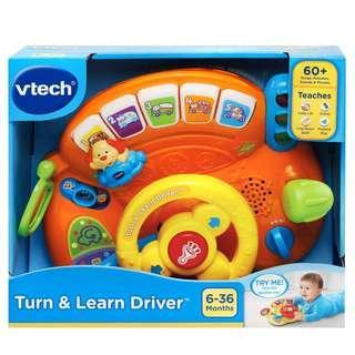 BNIB: VTech Turn and Learn Driver