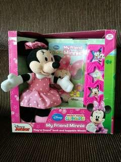 Mickey Mouse Clubhouse: My Friend Minnie: Play-a-Sound and Huggable Minnie Box Set