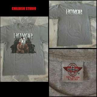 HONOR (Is A Way Of Life) T-shirt 'L' size.