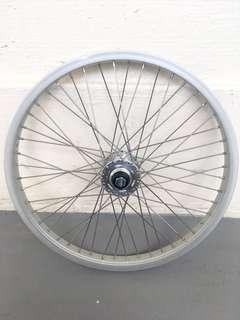 """Used Bicycle Components — 20"""" BMX front Wheel"""