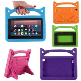 😽😺Kids Cat Shockproof Armoured Protective iPad Case