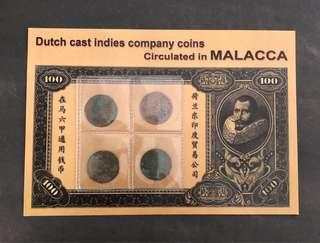 c71 Dutch East Indies Coins Circulated in Malacca