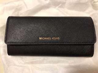 全新正版 Michael Kors 長銀包