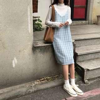 🚚 PO: Calla's patterned slip dress (Korean Fashion)