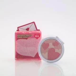 包郵❤Ettusais Heart Cheek Color (pink/orange)