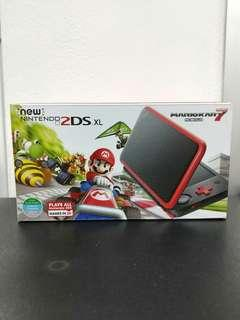 (Brand New) New 2DS XL Console Mario Kart 7 Edition + Pre-Installed Mario Kart 7