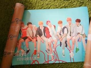 BTS LOVE YOURSELF: ANSWER  POSTER