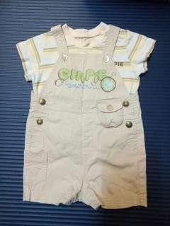🚚 CHIPIE短袖上衣+吊帶褲