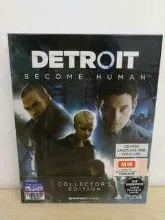 (Brand New) PS4 Detroit Become Human Collector's Edition / R3