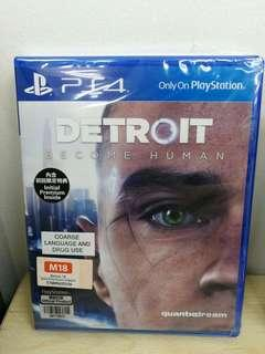 (Brand New) PS4 Detroit Become Human / R3