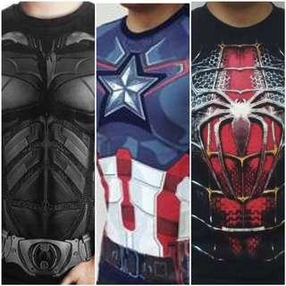 🚚 High Quality Superhero Costume Shirts👍