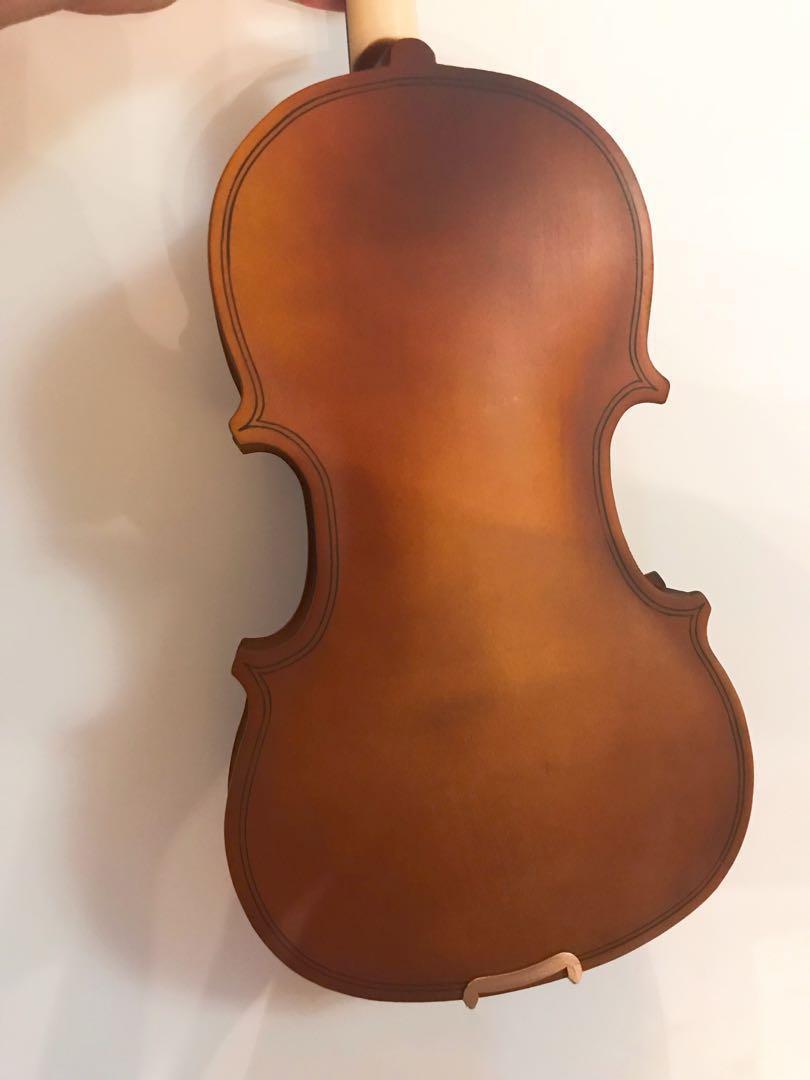 全新1/4原木色小提琴Violin
