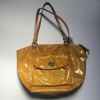 Coach Patent Bag