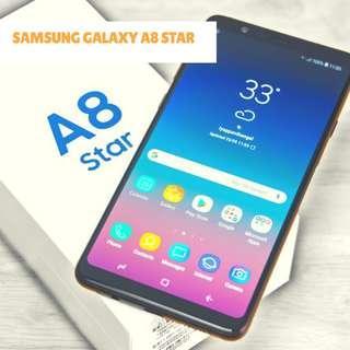 Samsung Galaxy A8 Star Smartphone 64GB/4GB Garansi Resmi