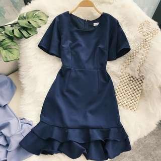 🚚 PO: Callee's Fish Tail Dress (Korean Fashion)