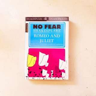No Fear Shakespeare Romeo and Juliet (FREE SHIPPING)