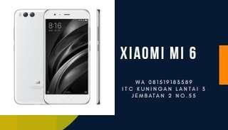Xiaomi Mi 6 Smartphone - White [64GB/ 6GB] Proses Mudah