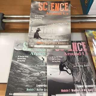 Secondary Normal Technical Science Texts For Sale