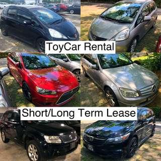 No Contract Cars For Rent!