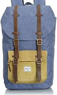 Herschel Heritage Backpack - Navy / Straw Crosshatch (Ranch)