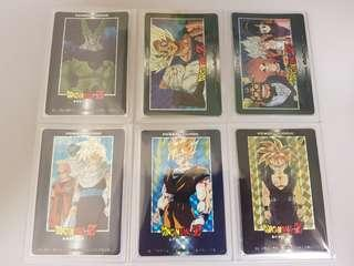 Dragonball Amada PP Part 21 prism cards