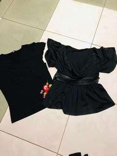 Black Blouses Bundle