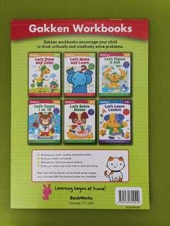 Gakken activities books