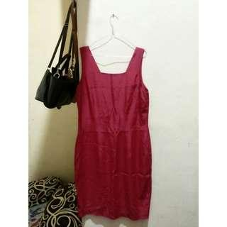 Dress cantik red